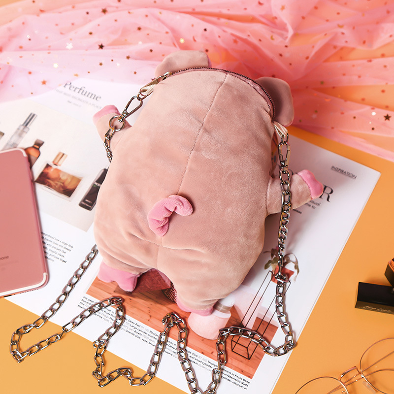 2019 New Style For Kids Funny Piggy Shoulder Outdoor Leisure Bag