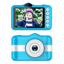 Mini Digital Camera 3.5 Inch Cartoon Cute Camera Toys Children Birthday Gift 1080P Toddler Toys Students Education Video Camera(China)