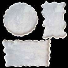 3 шт большая прямоугольная круглая пластина набор прессформы