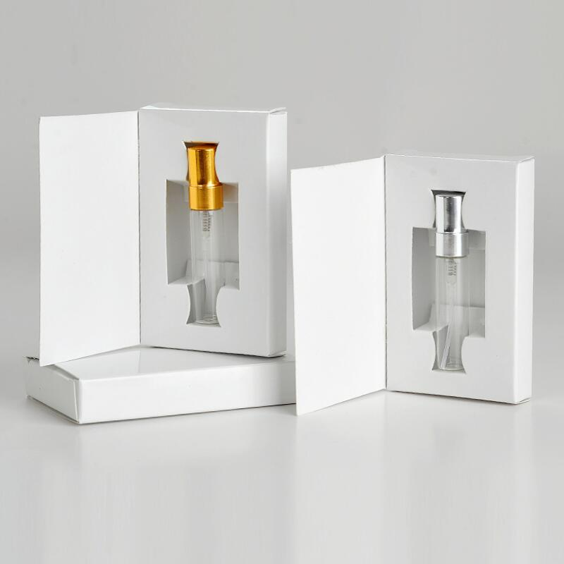Hot Sale 1000 Pcs 5ML Empty Glass Perfume Bottle With Atomizer And Customizable Paper Boxes LX8603