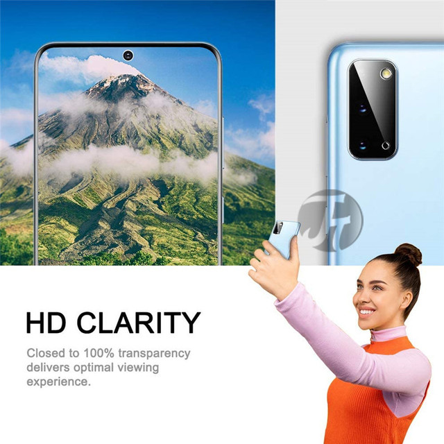 Film For Samsung Galaxy S20 Ultra 20 FE 21 S 10 8 9 Note 10 20 Lens Film Camera Screen Protector For M50 M40 20 Tempered Glass 4