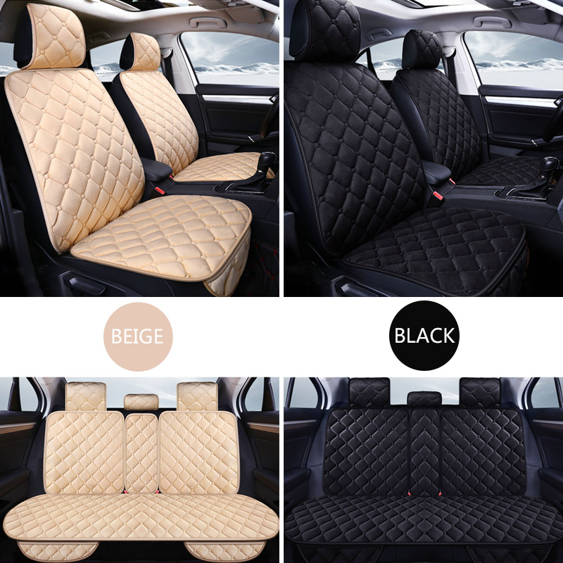 Universal Car Seat Covers Protector Cotton Automobiles Seat Cover Set For Winter Auto Seat Cushion Mat Car Interior Accessories in Automobiles Seat Covers from Automobiles Motorcycles