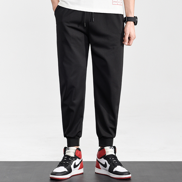Brand Joggers Casual Sports Pants Men Gym Clothing Comfortable Male Tracksuit Bottoms Black Track Pants Mens Fitness Sweatpants 6