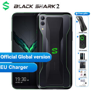 Black Shark Snapdragon 855 Xiaomi Gaming Smartphone 128GB 6GB Supercharge Octa Core Fingerprint Recognition