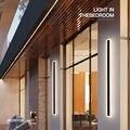 Современные поверхностного монтажа акриловый светодиодный настенный светильник для прикроватный крыльцо Ванная комната зеркала в закрыт...