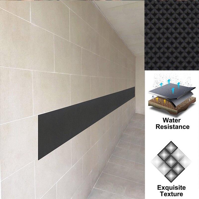 200 см x 20 см протектор двери автомобиля гаража, резиновая настенная защита, бампер, безопасная парковка