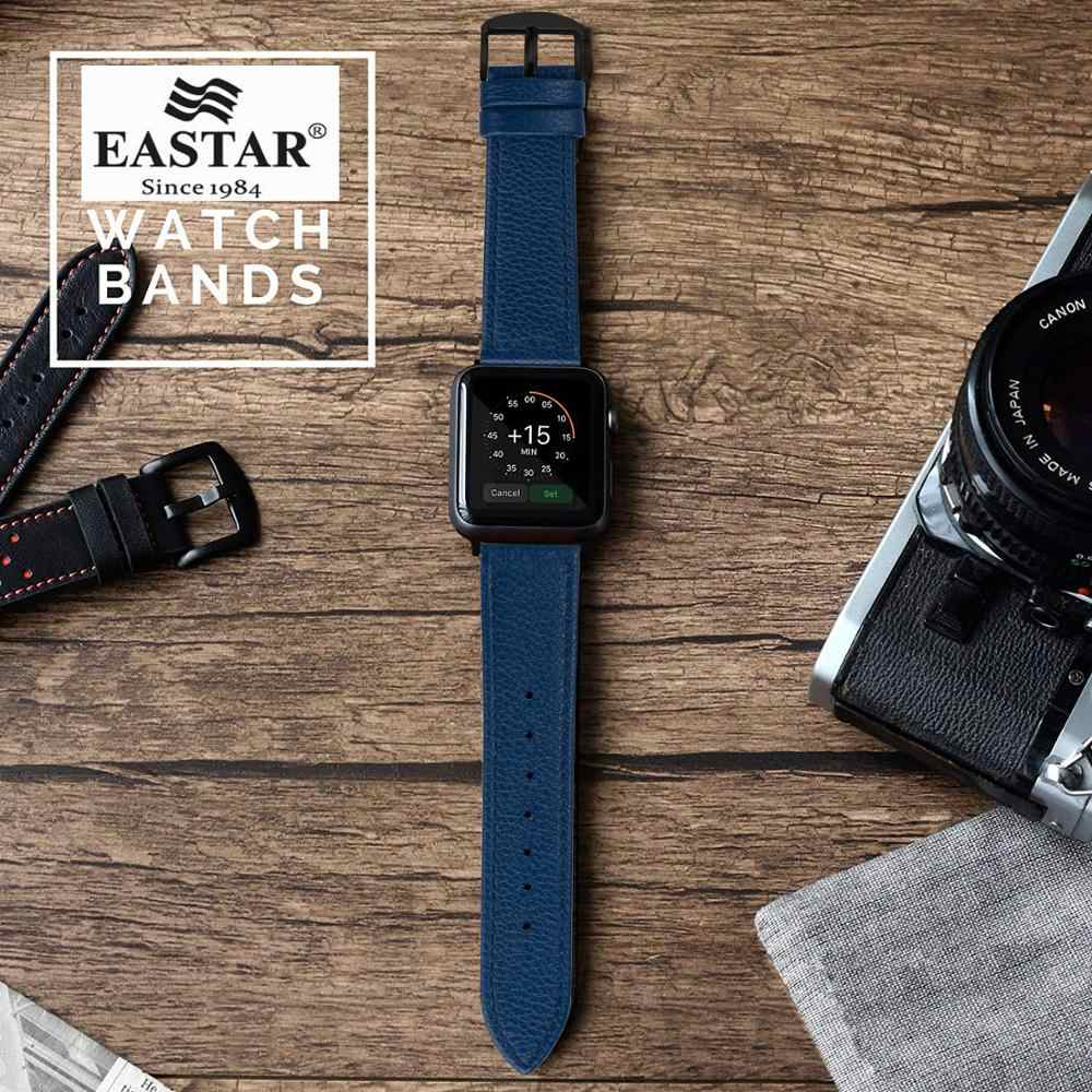Eastar 3 اللون الساخن بيع الجلود حزام الساعات ل سوار ساعة أبل سلسلة 5/3/2/1 الرياضة سوار 42 مللي متر 38 مللي متر حزام ل iwatch 4 الفرقة