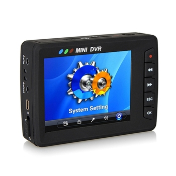 KS-750A Angle Eye Body Mini Camera 2.7 Inch Video Sports Action Camera Video Recording Camera with DVR-EU Plug
