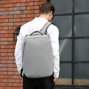 """Image 5 - Tigernu marque hommes sac à dos Anti vol USB Charge 17 """"sac à dos pour ordinateur portable mâle femmes école sac à dos sac décole de haute qualité hommes sac"""
