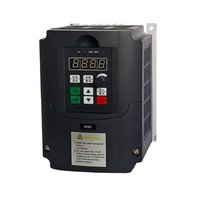 Portable 0.75kw/1.5kw/2.2kw G 220V Single Phase Frequency Converter 220V 3 Phases Output Frequency Inverter Built in User Timer