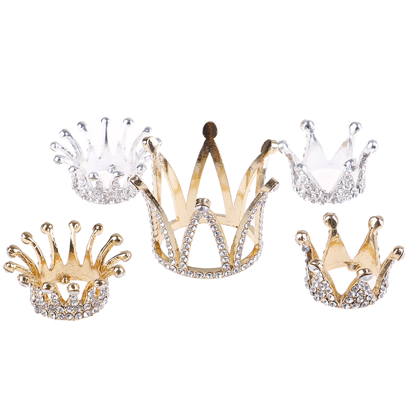 1 Pcs Crown Design Metal Nails Stand Holders Salon Brush Rack Carving Carrier Storage Nail Brush Holder For Nail Art Accessory
