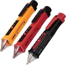 VD802 numérique sans contact détecteur de tension ca testeur mètre 12V-1000v stylo Volt courant électrique Test crayon indicateur électrique LE