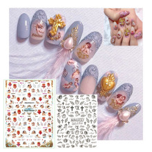 Latest 3D Nail Art Sticker Nail L 192 angel Series Nail Art Sticker Decal Tool DIY Tool