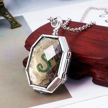 Rj hp Слизерин медальон крестраж змеиные ожерелья Хогвартс Дары