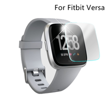 Yayuu Smart Watch Screen Protector Explosion-proof Hard Tempered Glass Anti-Scratch Protective For Fitbit Versa 1/2 Accessories цена и фото