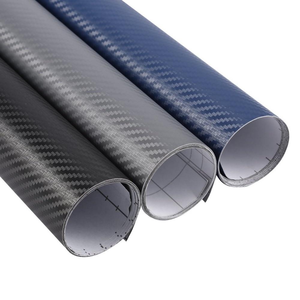 127*30cm Stickers 3D Carbon Fiber Membrane Carbon Fiber Stickers Universal Car Stickers Waterproof Stickers Car-styling Hot