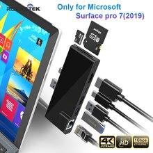 Hub-Card-Reader Type-C-Adapter Microsoft Surface Micro-Sd Usb-3.0 Hdmi-Compatible TF