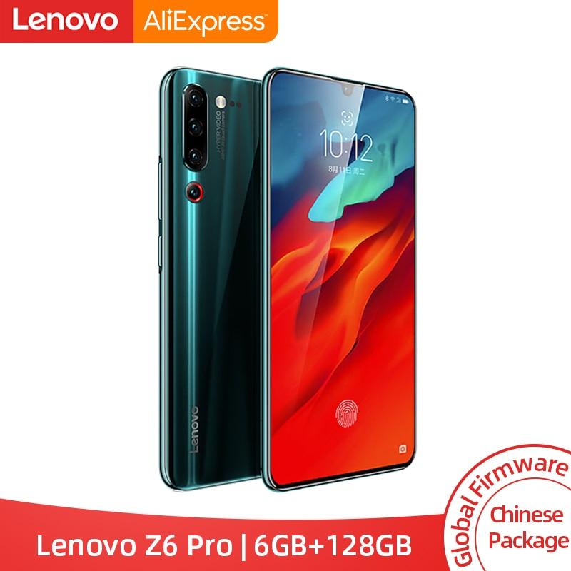 Global ROM Lenovo Z6 Pro 6GB 128GB Smartphone Snapdragon 855 Octa Core 6.39