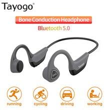 Tayogo S2 Bluetooth 5.0 Wireless Headphones Bone Co