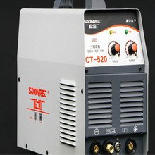 CT-520 multi-function 220v TIG welding tig welder with arc welding and Plasma cutting Plasma cutter function ship from eu 50a plasma cutter cutting machine arc with pressure gauge welding accessories free glasses