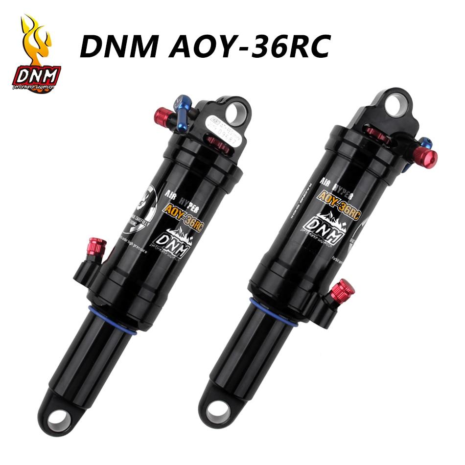 DNM задний амортизатор для горного велосипеда, mtb, с блокировкой, с проводом и ручным управлением, 165/190/200/210 мм