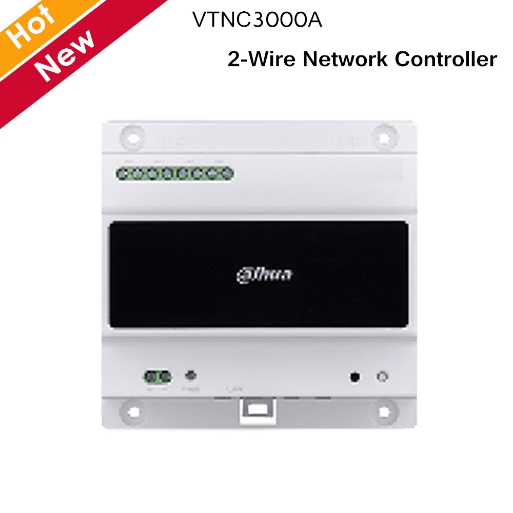 Dahua Video Intercoms Accessory VTNC3000A 2-Wire Network Controller 4 Groups Of 2-wire Port RJ45 Port
