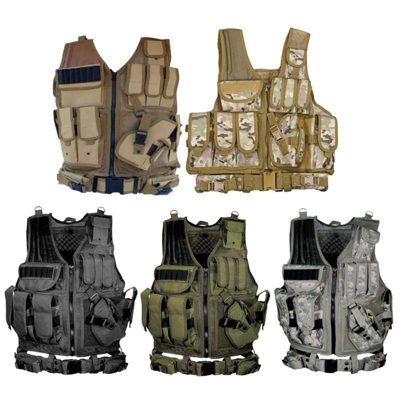 Waterproof Wargame Combat Vest Outdoor Hunting Protection Assault Waistcoat