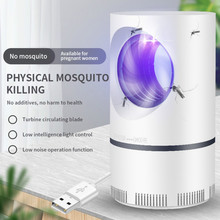 USB Mosquito killer household mosquito repellent mute non-radiation new mosquito killer photocatalyst suction type ywxlight photocatalyst no radiation mosquito killer lamp