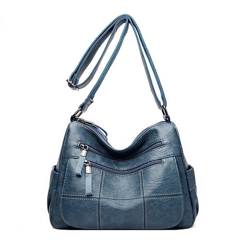 2019 women leather handbags high quality sac a main female leather shoulder bags for girls bolsa women messenger bag crossbody