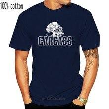 Carcasse V1, Logo, bande, Death Metal, T-SHIRT DTG (noir) S-5XL coton T-SHIRT Streetwear décontracté
