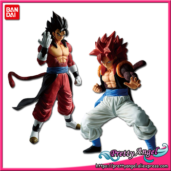 PrettyAngel- Genuine Bandai MASTERLISE Super Dragon Ball Heroes SUPER SAIYAN 4 Vegetto SUPER SAIYAN 4 Gogeta Collection Figure