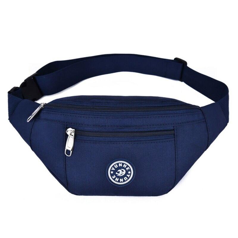 Unisex Sports Travel Bum Bag Money Cycling Belt Waist Belt Fanny Pack HIP Pouch Pocket Wallet Running Chest Bag