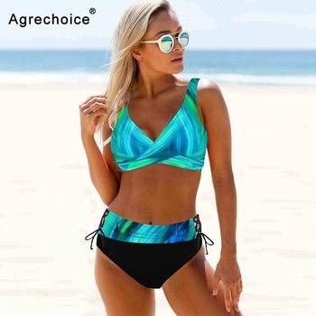 Plus Size Bikini Women 2021 Sexy Swimwear Push Up Swimsuit High Waist Bikini Set Brazilian Bathing Suit Beachwear Swimming Suit