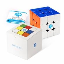 D fantix Gan 356 RS 3x3 Speed Cube sans colle Gans 356R S 3x3x3 Cube magique Puzzle GES V3 système Bonus supplémentaire pochette bleue pour enfant