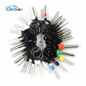 2020 New 38pcs Car Terminal Removal Tool Wire Plug Connector Extractor Puller Release Pin Extractor Kit For CarPlug Repair Tool
