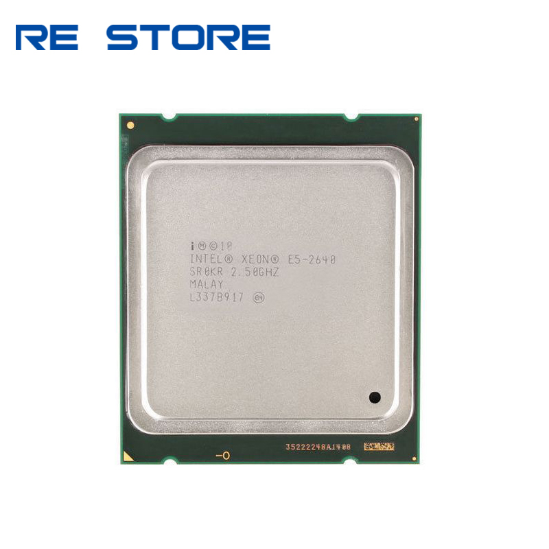 Intel Xeon E5-2640 E5 2640 15M Cache 2.50 GHz 7.20 GT/s Processore CPU title=