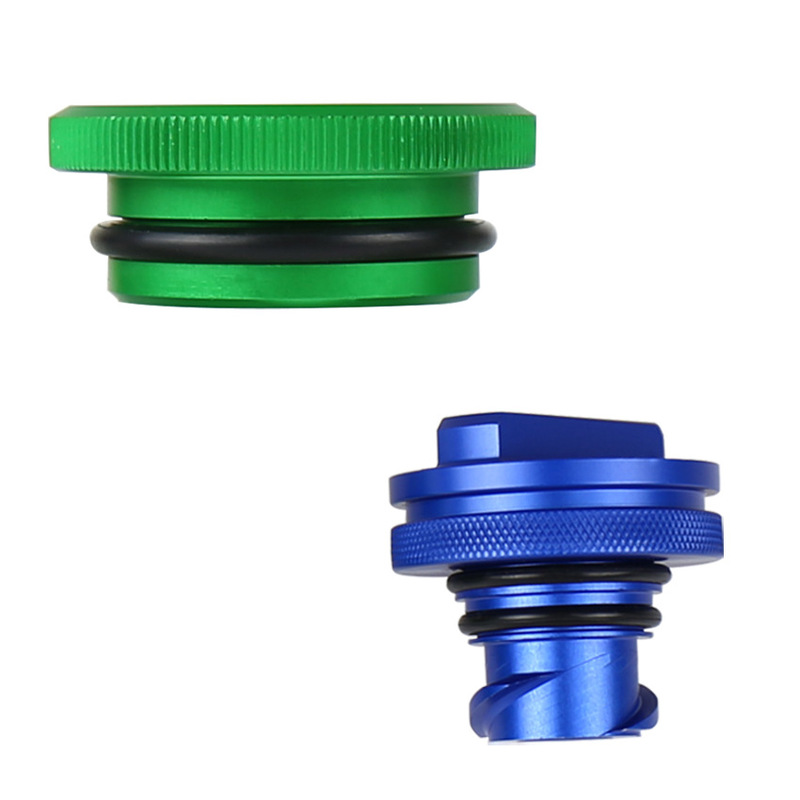 The Vectra Aluminum Alloy Car Seal The Cap Blue/green Dodge RAMS Diesel 13 ~ 17 Years Alloy Cover