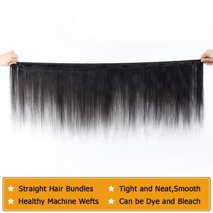 Image 3 - QT Brazilian Hair Weave Bundles 40 32 inch Straight Hair Bundles 100% Human Hair Bundles Remy Brazilian Straight Hair extensions