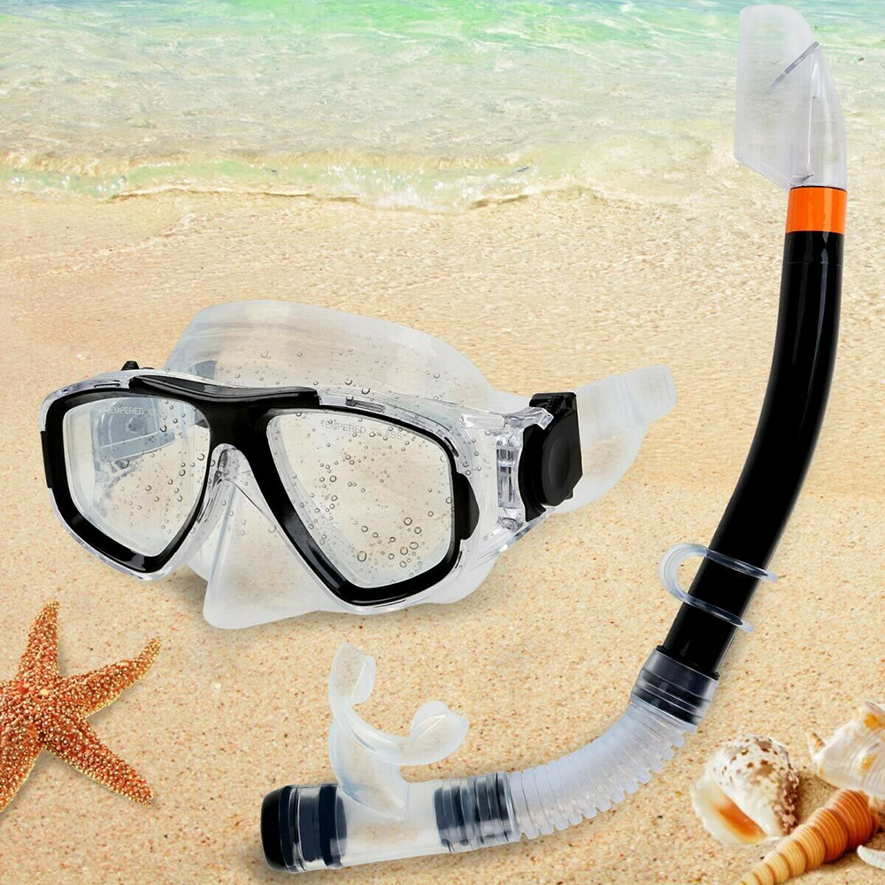 Diving Mask Professional Scuba Diving Mask And Snorkels Goggles Glasses Diving Swimming Easy Breath Tube Set Swimming Pool