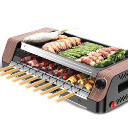 Multi-functional Electric Grill Grill Korean Electric Grill Automatic Rotate Barbecue Machine Non-stick Electric Grill Rotator