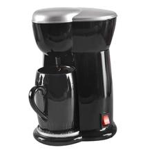 цена на Electric Drip Coffee Maker Household Coffee Machine 6 Cup Tea Coffee Pot(UK Plug)