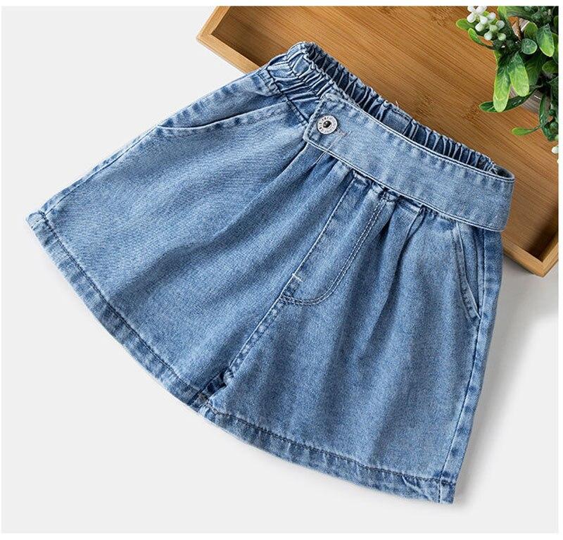 Fashion Children Denim Shorts 100% Cotton Short Summer Children Jeans Kids Baby Shorts Summer Cute Shorts For Girls 1