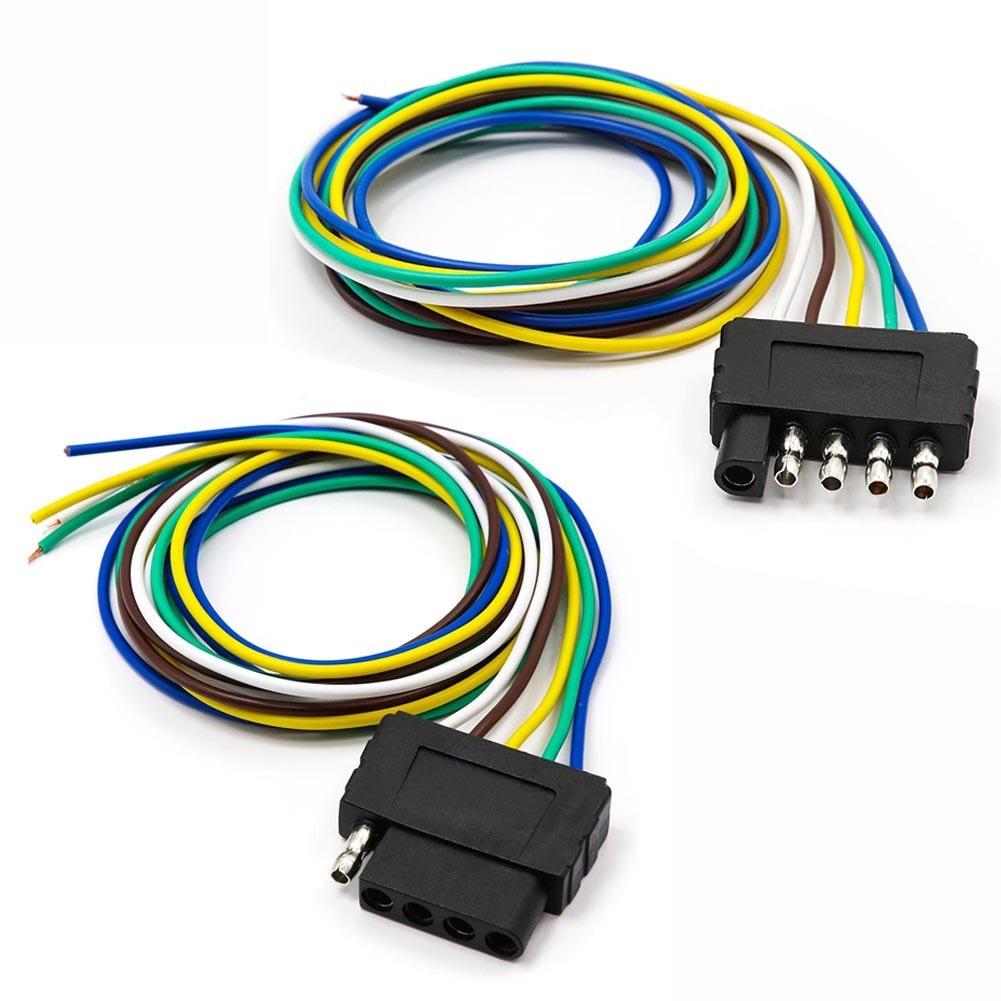 TIROL5 игольчатый трейлер соединитель 18 * 5AWG плоский разъем удлинитель автомобиля плоский разъем Соединительный кабель