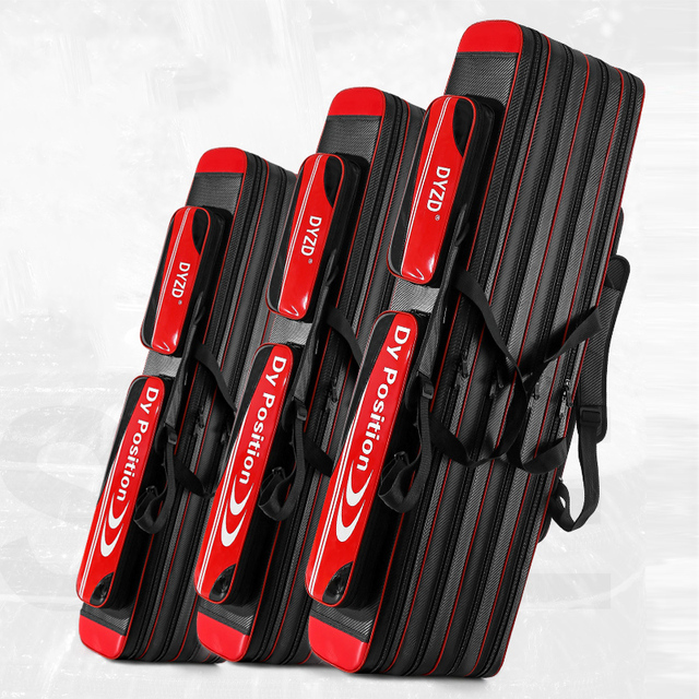 Large-Capacity Fishing Pole Rod Gear Bag X565G