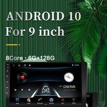 Ram6g + 128g dsp + ips 2din android 10 leitor de dvd do carro 8 núcleo do carro android multimídia 2 din leitor de dvd do carro bluetooth player de vídeo