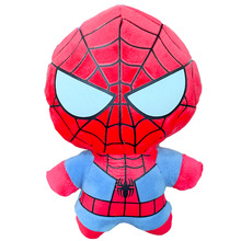 10CM/20CM Jumbo Marvel Hero Plush Toy Stuffed Spiderman Captain Iron Man Hulk Cute Cartoon Doll for Children Xmas Gift