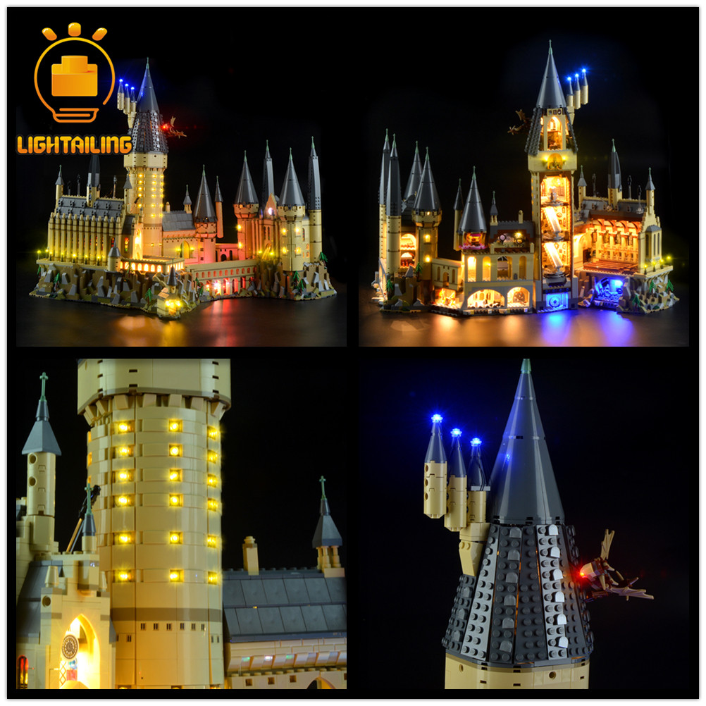 LIGHTAILING LED Light Kit For Hogwart 's Castle Compatible With Legoes 71043/75953/75955/75954/75948  (NOT Include The Model)