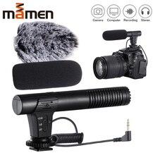 MIC 02/MIC 03/MIC 05/MIC 06 3,5mm, teléfono móvil/cámara, micrófono para grabación de vídeo, micrófono estéreo supercardioide de señalización, 2020
