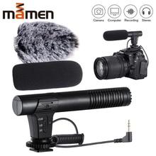MIC 02/MIC 03/MIC 05/MIC 06/MIC 07 3,5mm Handy/Kamera Mikrofon Video Aufnahme Super nieren Zeigt Stereo Mic 2020