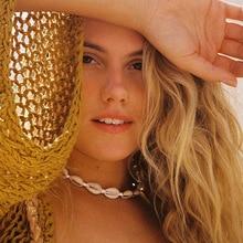 Hot Sale Sea Shell Chokers Necklace Jewelry Bohemian Beach Summer Bohemia Chain For Women Collar Chocker